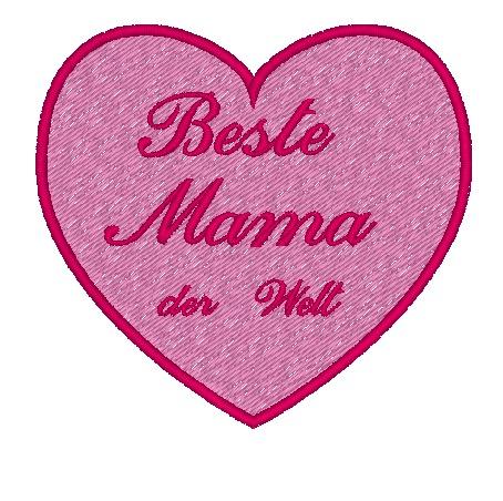 beste mama herz